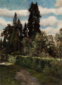 Image of Landscape with Poplars