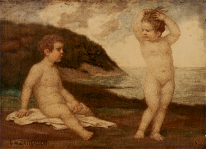 Image of Children by the Sea