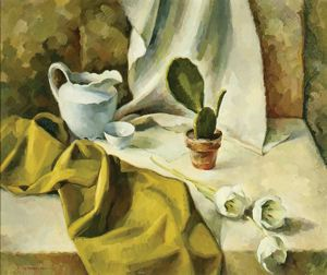 Image of Still Life with Tulips