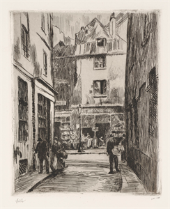 Image of La Boutique, Paris (Rue St. Julien le Pauvre)