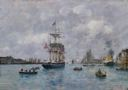 Image of View of the Harbor, Le Havre