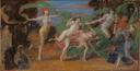 Image of Dancing Girls in the Garden--Bacchanalia