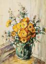 Image of Flowers in a Vase
