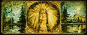 Image of Indian Chief and Landscapes