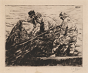 Image of Fishermen Hauling Nets