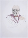 Image of Study for portrait of Winston Churchill
